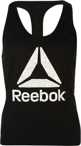 154b8be4a12 Reebok Logo Tank Top Ladies Black White - Glami.cz