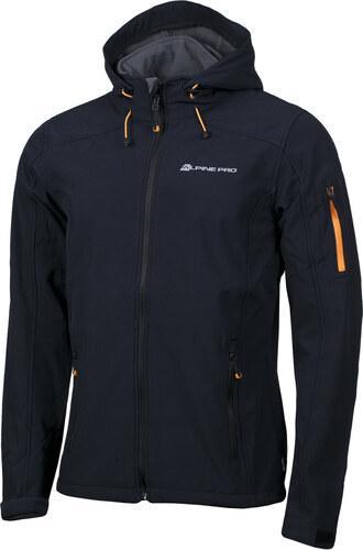 ALPINE PRO NOOTK Pánská softshellová bunda MJCG109990 černá S - Glami.cz 7052d038908
