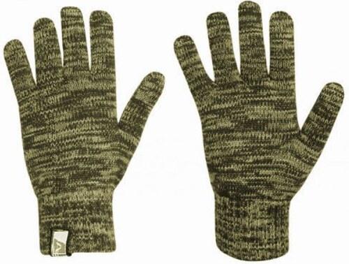 ALPINE PRO Bunker Pánské pletené rukavice 7826560 zelenočerná M ... 2bc245102d