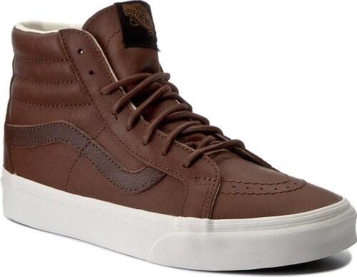 Sportcipő VANS - Sk8-Hi Reissue VN0A2XSBLYW (Leather) Dchshnd PtngSoil 34a7f95f25