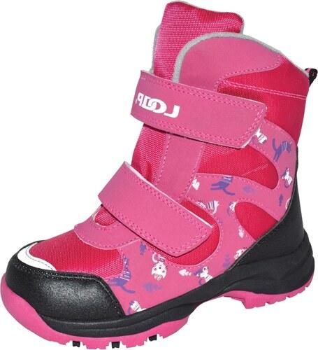 2bc56b7a774 LOAP CHOSEE Dětská zimní obuv KBK1644J20V růžová - Glami.cz