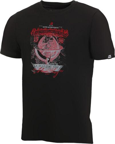 ALPINE PRO AMIT 2 Pánské triko MTSJ189990PA černá - Glami.cz 2e7a5bff25a