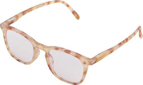 Hnedo-žlté vzorované unisex ochranné okuliare k PC IZIPIZI  E - Glami.sk 51a1a1584b1