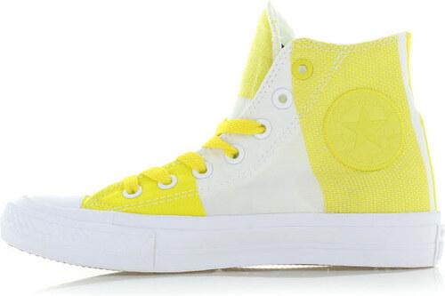 Converse Dámské žluto-bílé vysoké tenisky Chuck Taylor All Star II ... e16ebbc5abb