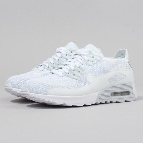 Nike W Air Max 90 Ultra 2.0 Flyknit white   white - pure platinum ... 99b47c1ff6b