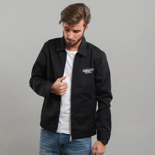 c70b8cc30 Carhartt WIP BP Modular Jacket černá / bílá - Glami.cz