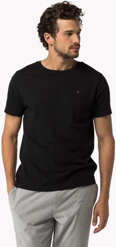 cfce4e8e1f9 Tommy Hilfiger černé pánské tričko Tee Icon - Glami.cz