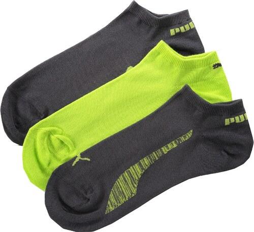 dd480bb3623 Dámské ponožky PUMA PUMA LIFESTYLE SNEAKERS 3P 88641220 LIME - Glami.cz