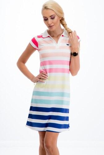 Fasardi Trendy šaty s farebnými pásikmi - Glami.sk 9f38dc2cefb
