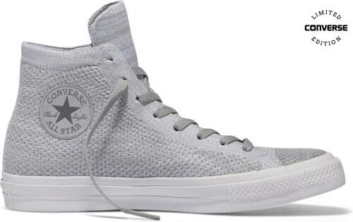 Converse Chuck Taylor All Star X Nike Flyknit šedé C156735 - Glami.cz e744cba27a