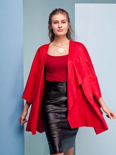 56355b042490 Dámský červený stylový kardigan - GR1436 odtiene farieb  červená ...