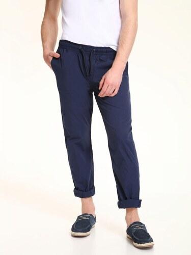 Top Secret Kalhoty pánské tmavě modré na gumu a stahovací šňůrku ... d8f0f0adcdc