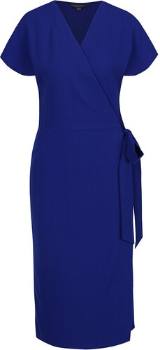 248d498775d3 Modré zavinovacie šaty Dorothy Perkins Tall - Glami.sk