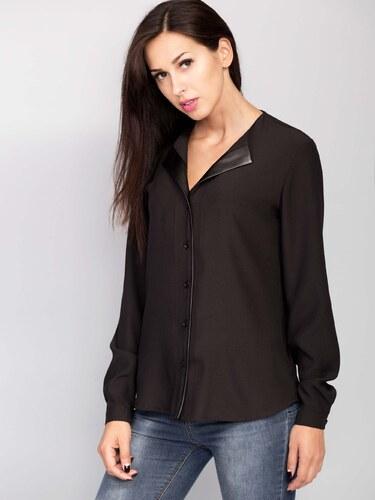 7e59d0b44f2e Dámska čierna košeľa - ММ2023 odtiene farieb  čierna - Glami.sk