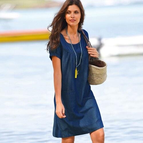 bb1178247362 Blancheporte Džínsové šaty modrá - Glami.sk
