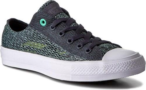 6333ebd1319a -29% Tramky CONVERSE - Ctas II Ox 155733C Sharkskin Green Glow White