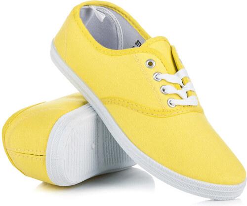 7f5db1fc66d5d NEW AGE Pohodlné žlté tenisky na jar i leto - Glami.sk