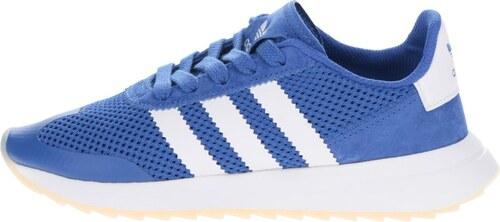 Modré dámske tenisky adidas Originals Flashrunner - Glami.sk b6cad132149