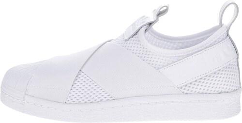 Biele dámske slip-on tenisky adidas Originals Superstar - Glami.sk 18634765f26
