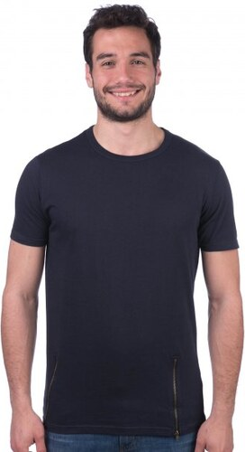 Brave Soul pánské tričko se zipy Falcone XS tmavě modrá - Glami.cz f98e37da48