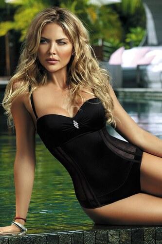 6ec051be4 Etna Dámske jednodielne plavky Fashion Black čierna - Glami.sk