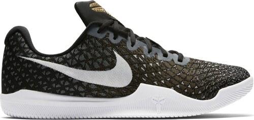 ecfd3fc73f3 Pánské basketbalové boty boty Nike MAMBA INSTINCT BLACK WHITE-WOLF  GREY-METALLIC