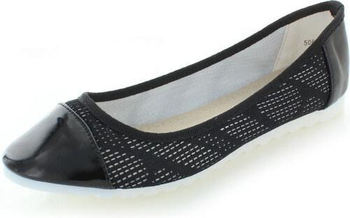 bd1e975262 Vices Fekete balerina cipő Maggie - Glami.hu
