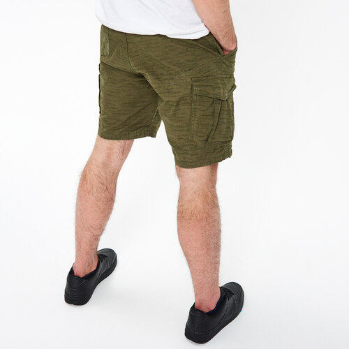 Cropp - Látkové šortky s vreckami - Zelená - Glami.sk 536fcd64bc