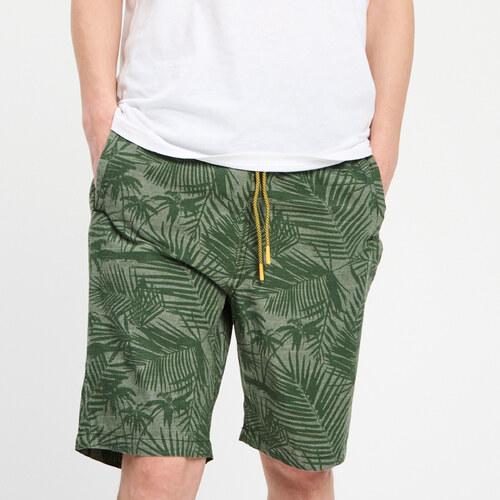 Cropp - Bavlnené šortky s potlačou - Zelená - Glami.sk 79ca208f58