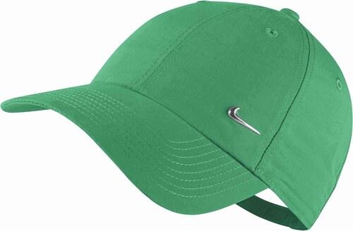 Pánská čepice Nike U NSW H86 METAL SWOOSH STADIUM GREEN METALLIC SILVER 19a23c4a66