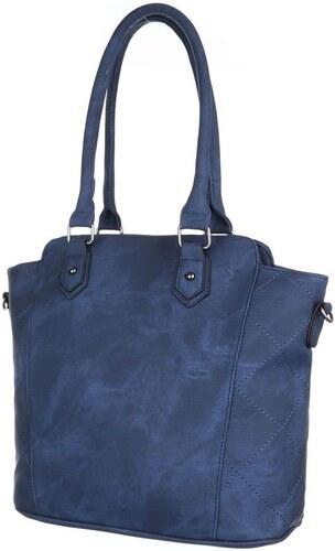 Luxusní dámská taška - velké uši tmavě modrý model - TA-5820-DK.blue ... 4cd87e5d419