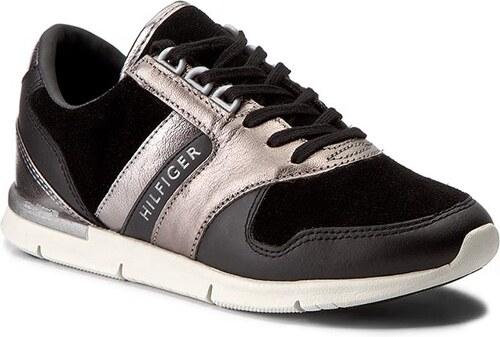 14223f8a0e9cc Sneakersy TOMMY HILFIGER - Skye 1C1 FW0FW01634 Black 990 - Glami.cz