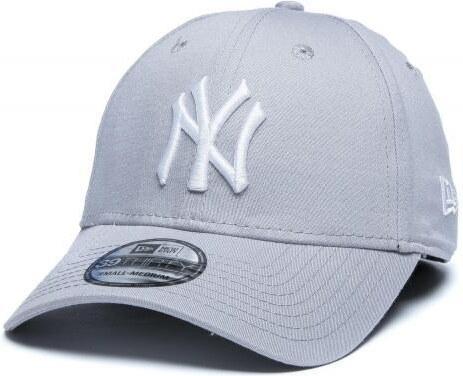 9235a3eb262 New Era Kšiltovka 3930 MLB League Basic NY Grey - Glami.cz