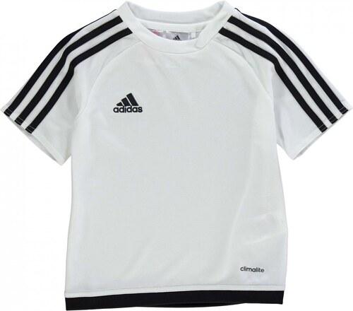Tričko Adidas - 3 Stripe Estro Tee Shirt Infants - Glami.sk c573f05d67c