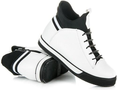 bc81da86a6c Ideal Vysoké tenisky na zips X-2593W - Glami.sk