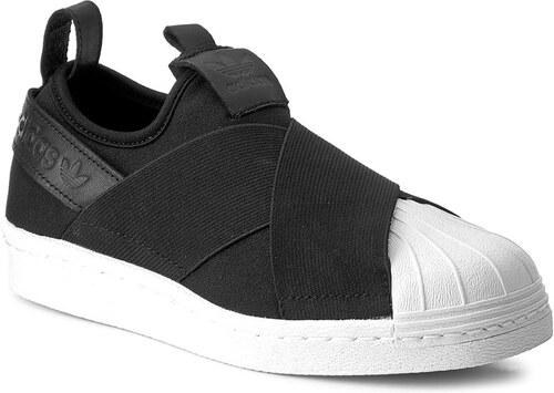 Cipők adidas - Superstar SlipOn BZ0112 Cblack Cblack Cblack - Glami.hu f6bc24cf04
