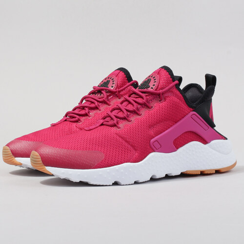 a29aaf3c33e8 Nike W Air Huarache Run Ultra sport fuchsia   black - gum yellow ...