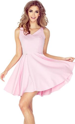 e342cee5cc48 Šaty dámské MORIMIA 014 2 pastel pink - Glami.sk