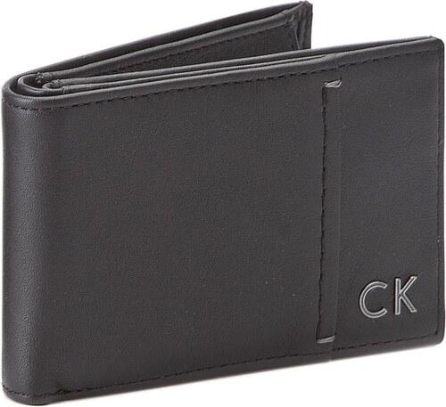 e9ab06af30 Kis férfi pénztárca CALVIN KLEIN BLACK LABEL - Newton Mini 6CC + Coin  K50K503188 001