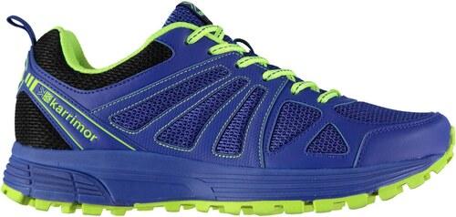 Karrimor Caracal Mens Trail Running Shoes Blue Lime - Glami.cz 8ee21161e41