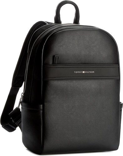 Batoh TOMMY HILFIGER - City Business Backpack Novelty AM0AM02272 002 ... 2121eeb35fb