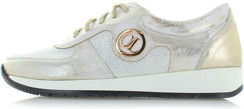 c99546984c4c Olivia Shoes Zlato-biele tenisky Janey - Glami.sk