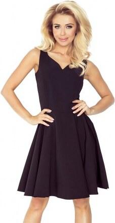 Dámské elegantní společenské a plesové šaty černé NUMOCO 114-9 ... d68498af220