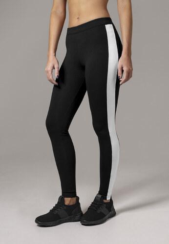 8d7749824c21 Dámske legíny URBAN CLASSICS Ladies Retro Leggings čierno bile ...