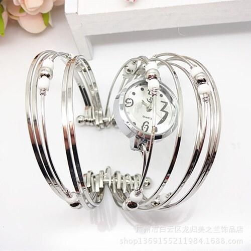 HGM Náramkové hodinky bílé - Glami.cz 32811737b9