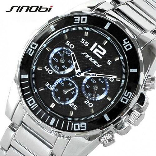 HGM Kvalitní značkové pánské hodinky Sinobi - Glami.cz e406bd4b86
