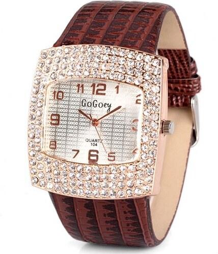 HGM Elegantní náramkové dámské hodinky levně - Glami.cz 38dc77362a