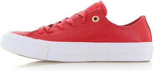 Converse Dámské červené nízké tenisky Chuck Taylor All Star II Ox ... 5e7b117ac0