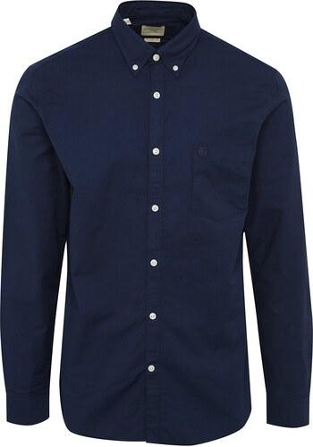 fef47aa2d94 Tmavě modrá košile s dlouhým rukávem Selected Homme Collect