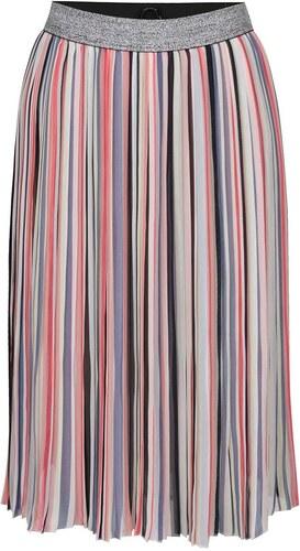 5dca6e27196 Polodlouhá sukně s barevnými pruhy ONLY Rainbow - Glami.cz